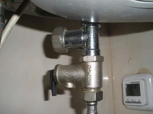 Предохранительный клапан для водопровода